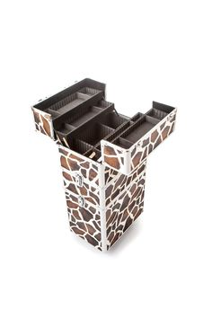 The Urbanity Giraffe Animal Print Beauty Trolley is perfect for professional mobile beauticians, nail technicians and hairdressers.  It's stylish, versatile, and is the ideal beauty storage solution for those on the move!