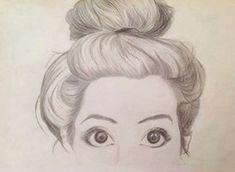 tumblr girl drawing - Google Search
