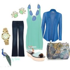 Peacock, created by stigro on Polyvore
