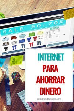 Cómo usar Internet para ahorrar dinero. Ahorros en el hogar