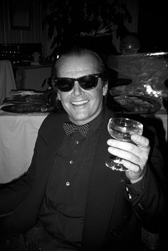 Jack Nicholson, Aspen, USA, 1983, Chris Makos