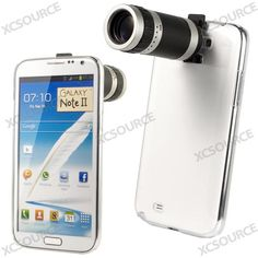 to bude masakr :cD  8x Zoom Phone Camera Lens Telescope Case for Samsung Galaxy NOTE2 II N7100 DC282   eBay