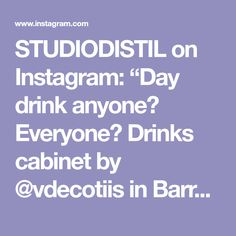 """STUDIODISTIL on Instagram: """"Day drink anyone? Everyone? Drinks cabinet by @vdecotiis in Barry and Sheryl Schwartz's Santa Barbara home. #interiordesign by…"""" Joinery Details, Drinks Cabinet, Santa Barbara, Interior Design, Day, Instagram, Nest Design, Home Interior Design, Bar Hutch"""