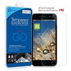 "iPhone 6 Screen Protector, JETech® Premium Tempered Glass Screen Protector for Apple iPhone 6 4.7"" JETech http://www.amazon.com/dp/B00N0YUKEO/ref=cm_sw_r_pi_dp_MctUub1J7RP8B"