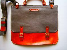 """15""""laptop Bag,Genuine Leather Briefcase, Messenger Bag, Handmade Leather Bag,Men's retro satchel bag,student bag, School bag, gift for him"""