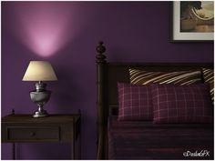Nice Purple Bedroom