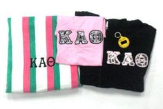 Kappa Alpha Theta Sorority discount pack Greek Clothing and Apparel. Something Greek Clothing and Apparel. Kappa Alpha Theta, Custom Greek Apparel, Sorority Outfits, Greek Clothing, Bid Day, Sale Items, Screen Printing, Lettering, Greek Outfits