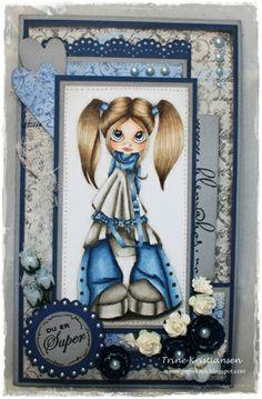 Gorgeous Blues!  Face: E11-00-000. R20-30   Hair: E41-42-43-44-47   Blue: B99-97-95-93-91   Gray: W6-5-4-3-1-00
