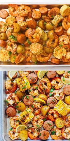 Seafood Boil Recipes, Seafood Dishes, Fish Recipes, Shrimp And Lobster Boil Recipe, Boiling Crab Cajun Shrimp Recipe, Chicken Recipes, Easy Crab Boil Recipe, Oven Shrimp Boil, Portuguese Recipes