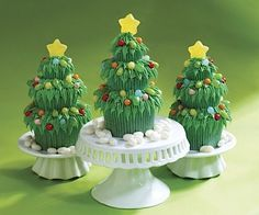 Jelly Belly Christmas Cupcakes
