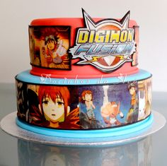 Docinhos da Avó Cake and Party Design Digimon BD Wedding Foods, Wedding Cakes, Star Wars Birthday, Birthday Cake, Baymax, Digimon, Coffee Cans, Amazing Cakes, Birthday Parties