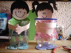 Imagini pentru manualidades para cumpleaños de niñas con botellas