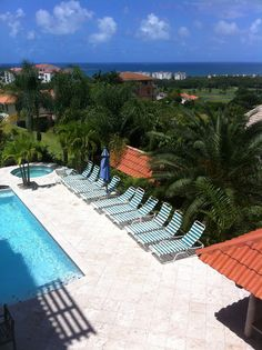 Kitchen view from Villa Tuscany rental. (10 bedroom vacation home) CaribbeanLuxuryRentals.com (305) 790-6619