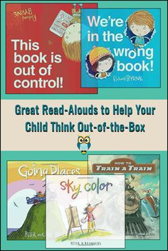 Great Read-Alouds to Help Your Child Think Out-of-the-Box