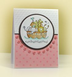 Welcome Baby Girl! by swldebbie - Cards and Paper Crafts at Splitcoaststampers