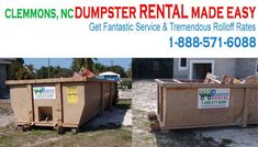 Clemmons, NC at EasyDumpsterRental Dumpster Rental in Clemmons, NC Get Fantastic Service & Tremendous Rolloff Rates How We Provide Fabulous Rolloff Off Service in Clemmons: Tired of getting the runaround? Well, you will only get straight answers and service that will go beyond any expectations you have ever had. Our customer... https://easydumpsterrental.com/north-carolina/dumpster-rental-clemmons-nc/