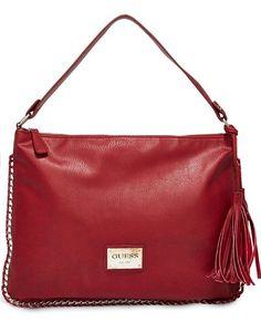 Guess Red Handbag #guess #handbag #red #fashion