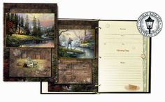 Thomas Kinkade® Peaceful Retreat Sign-In Memorial Book