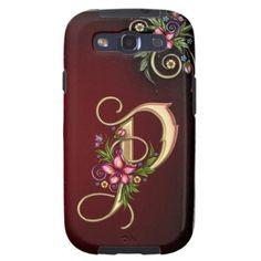 Monogram P IPhone 5 Case