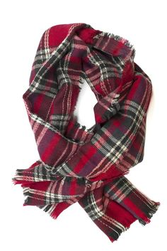 Miller Plaid Scarf on www.mooreaseal.com