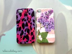 DIY iPhone case refurbishment! Fun way to reuse your case.