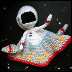 Astronaut Lovey crochet amigurumi pdf pattern by AlaSascha on Etsy, $3.99