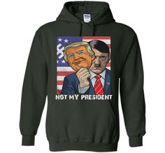 100% Cotton - Imported - Machine wash cold with like colors, dry low heat - NOT MY PRESIDENT T Shirt Anti's Trump's T-shirt - NOT My President T-Shirt Stand up for people who have been marginalized, b