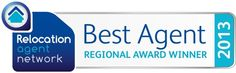 We were delighted to be named Relocation Agent Networks North West Agent of the Year 2013