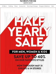 Half-Yearly Sale: Online & in Stores - Nordstrom