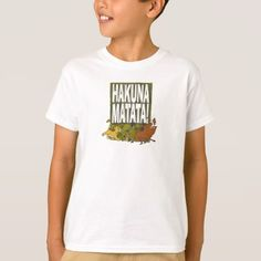 Disney Lion King Hakuna Matata! T-Shirt - tap, personalize, buy right now!