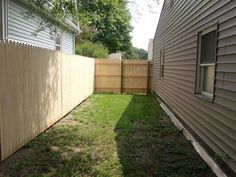 new privacy fence, diy, fences, how to, outdoor living, The new little nook or courtyard My future patio garden oasis