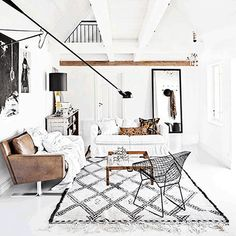 "Today in our weekly signature ""What's Hot on Pinterest"" we are going to show you 5 bohemian interior design ideas that you are going to love! These design ideas are going to elevate your decor and are the perfect inspiration for your Fall home renovation."