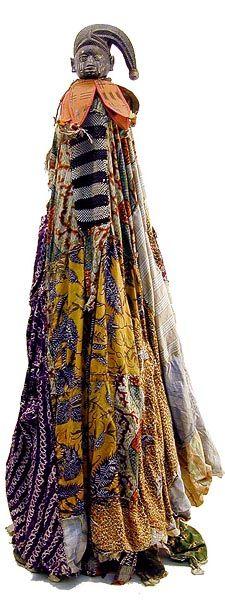 *YORUBA EGUNGUN COSTUME 9  Nigeria, Longyear Museum of Anthropolpgy