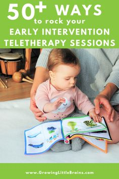 50+ ways to rock your Early Intervention teletherapy sessions — Growing Little Brains