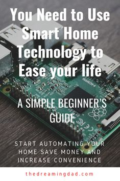 Home automation - A beginner's guide – The Dreaming Dad Money Saving Tips, Time Saving, Best Home Automation, What Is Thinking, Self Monitoring, Smart Home Technology, Do What Is Right, Home Gadgets, Diy Home Improvement