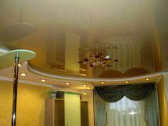 Как помыть глянцевый натяжной потолок без разводов?☝