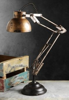30.00 SALE PRICE! Bring mid century charm to your home or office with this tabletop light. The Architect Prop Lamp has a vintage look, and will bring a lovel...