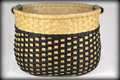 Large Storage Basket with Twill Weave and by ...