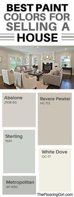 Best paint colors for selling a house #paintcolor #homeimprovement