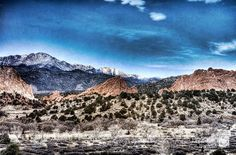 Garden of the Gods & Pikes Peak Colorado Springs by charismaphoto, $20.00