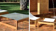Muebles para exterior avana de la marca Oi Side http://www.elemento3.com/