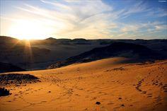 The Sahara desert is located in Chad, Algeria.