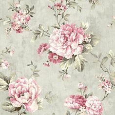Coralie Slate Peony Trail Wallpaper by Fairwinds Studios Wallpaper. We're having a big sale! Take an additional off all wallpaper and fabric with Discount Code Floral Print Wallpaper, Flower Wallpaper, Wallpaper Backgrounds, Floral Prints, Floral Wallpapers, Wallpaper Designs, Cottage Wallpaper, Discount Wallpaper, Wallpaper Stores