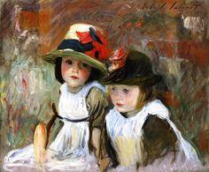The Athenaeum - The Village Children (John Singer Sargent - )