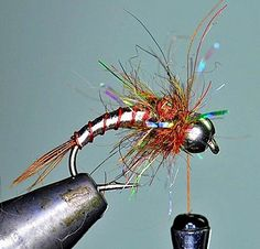 Lightning Bug~FlyArtStudio Directed to this fine site re fly fishing photography. Also, has a good tutorial on tying a productive little pattern called the Lightning Bug. The pattern has been aroun. Fly Fishing Tips, Best Fishing, Trout Fishing, Fishing Lures, Fishing Stuff, Fishing Tricks, Fishing Knots, Carp Fishing, Ice Fishing