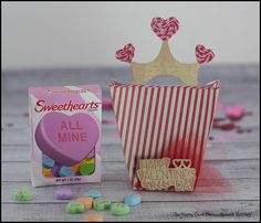 Queen of Heart treat bag using the #Sizzix #eclips