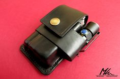 Mk leathers 187 custom leather edc pouch