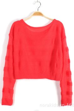 Vintage Papaya Coral Slouchy Sweater / Feather Soft Vintage ...