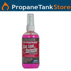 Checking for propane tank leaks