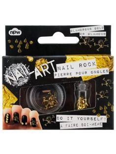 Skulls & Studs Do It Yourself Nail Art Kit (Available in a pack of 24)